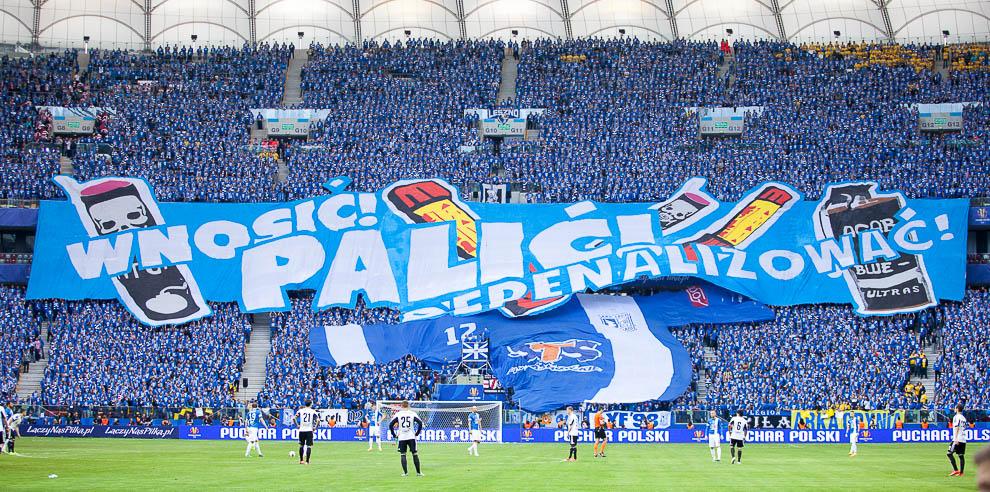 Finał Pucharu Polski: Lech Poznań 1-2 Legia Warszawa - fot. Piotr Galas (zdjęcie 38 z 172)