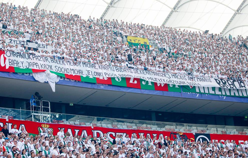 Finał Pucharu Polski: Lech Poznań 1-2 Legia Warszawa - fot. Piotr Galas (zdjęcie 39 z 172)