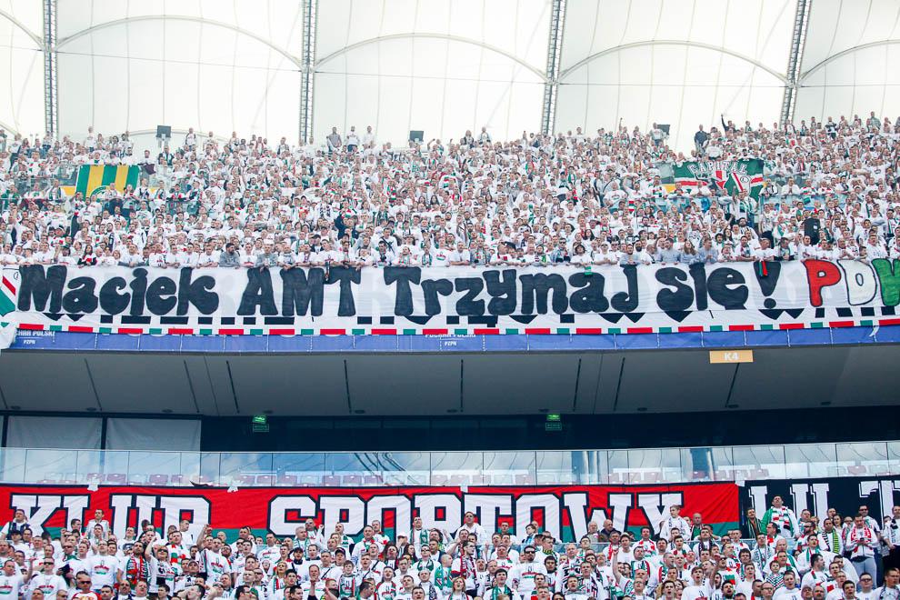 Finał Pucharu Polski: Lech Poznań 1-2 Legia Warszawa - fot. Piotr Galas (zdjęcie 40 z 172)