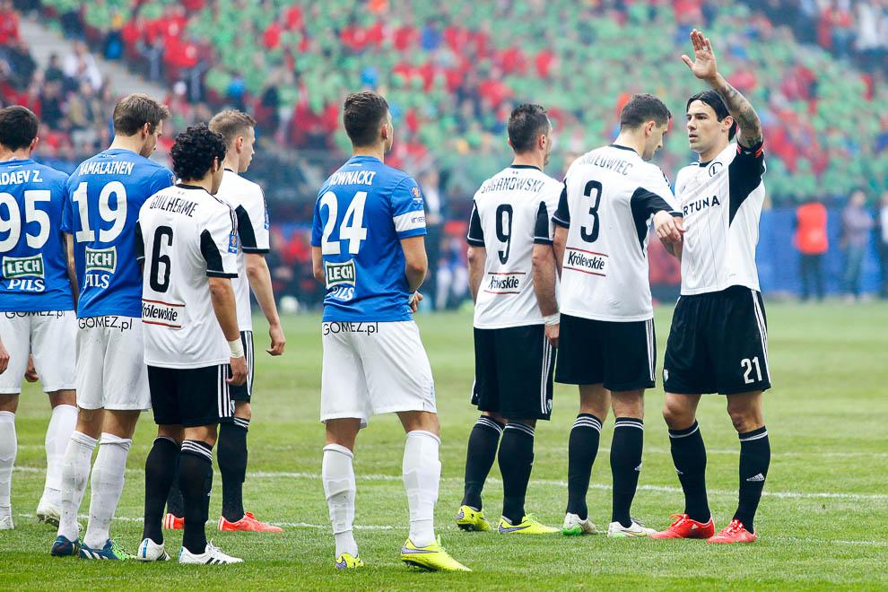 Finał Pucharu Polski: Lech Poznań 1-2 Legia Warszawa - fot. Piotr Galas (zdjęcie 41 z 172)