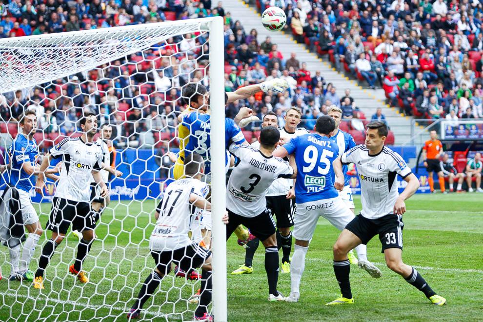 Finał Pucharu Polski: Lech Poznań 1-2 Legia Warszawa - fot. Piotr Galas (zdjęcie 54 z 172)