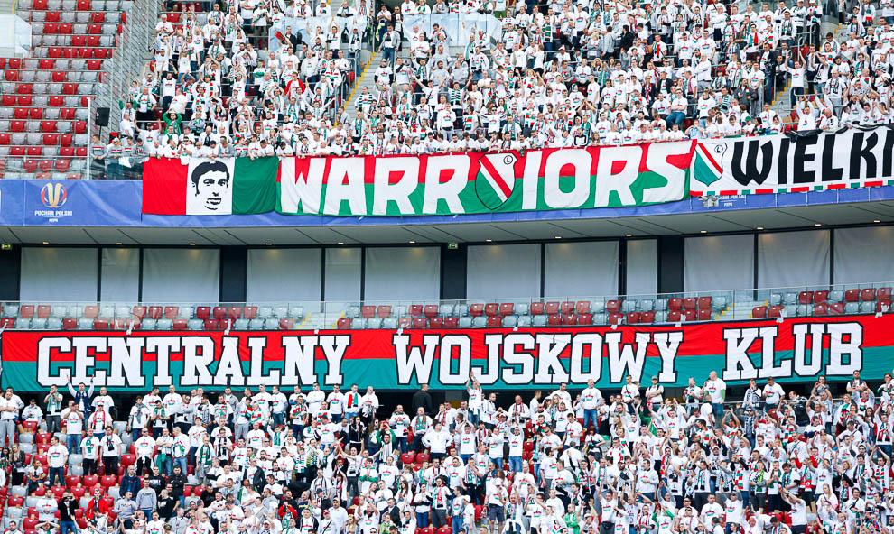 Finał Pucharu Polski: Lech Poznań 1-2 Legia Warszawa - fot. Piotr Galas (zdjęcie 6 z 172)