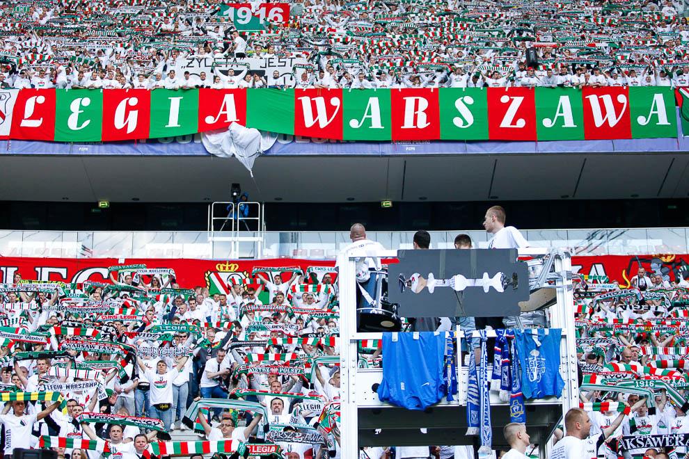 Finał Pucharu Polski: Lech Poznań 1-2 Legia Warszawa - fot. Piotr Galas (zdjęcie 64 z 172)