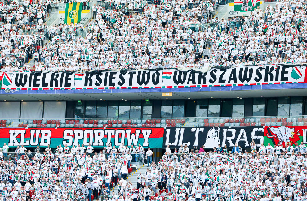 Finał Pucharu Polski: Lech Poznań 1-2 Legia Warszawa - fot. Piotr Galas (zdjęcie 7 z 172)