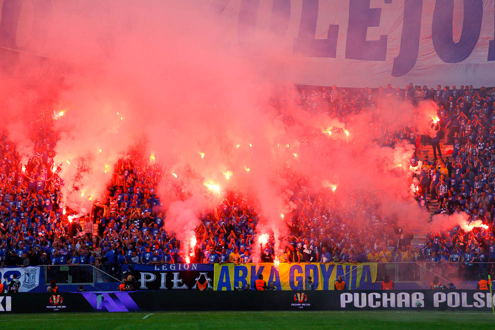 Finał Pucharu Polski: Lech Poznań 1-2 Legia Warszawa - fot. Piotr Galas (zdjęcie 70 z 172)