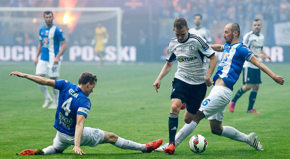 Finał Pucharu Polski: Lech Poznań 1-2 Legia Warszawa - fot. Piotr Galas (zdjęcie 72 z 172)