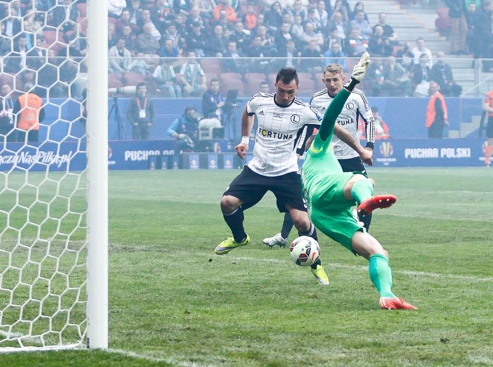 Finał Pucharu Polski: Lech Poznań 1-2 Legia Warszawa - fot. Piotr Galas (zdjęcie 75 z 172)