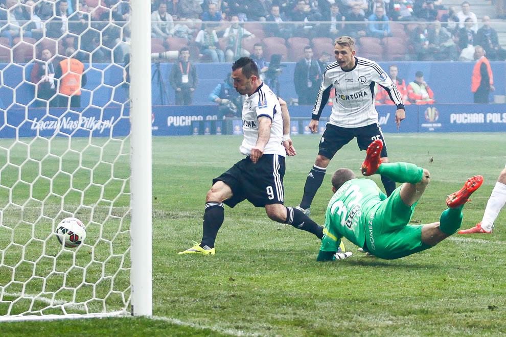 Finał Pucharu Polski: Lech Poznań 1-2 Legia Warszawa - fot. Piotr Galas (zdjęcie 76 z 172)