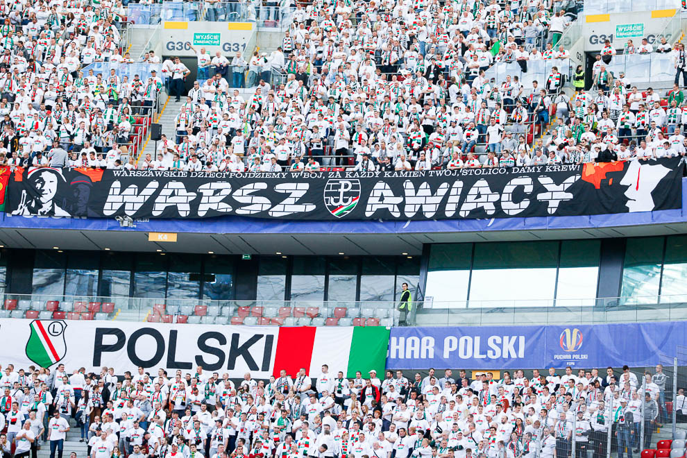 Finał Pucharu Polski: Lech Poznań 1-2 Legia Warszawa - fot. Piotr Galas (zdjęcie 8 z 172)