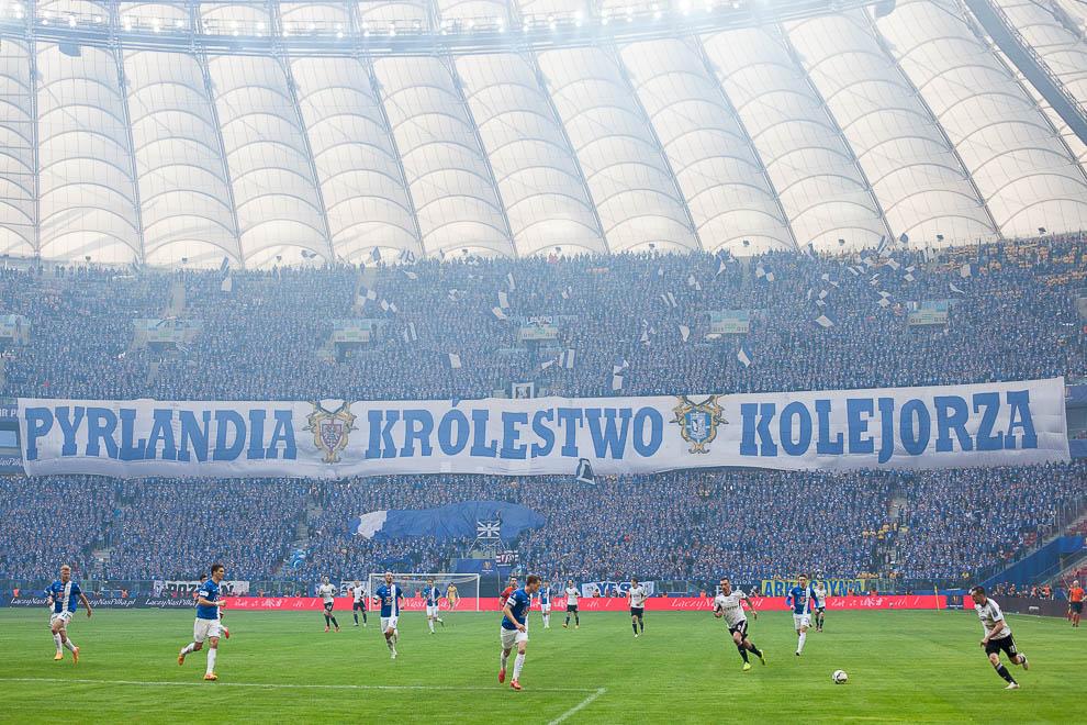 Finał Pucharu Polski: Lech Poznań 1-2 Legia Warszawa - fot. Piotr Galas (zdjęcie 86 z 172)