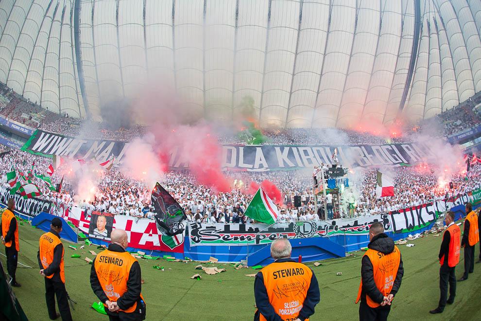 Finał Pucharu Polski: Lech Poznań 1-2 Legia Warszawa - fot. Piotr Galas (zdjęcie 94 z 172)