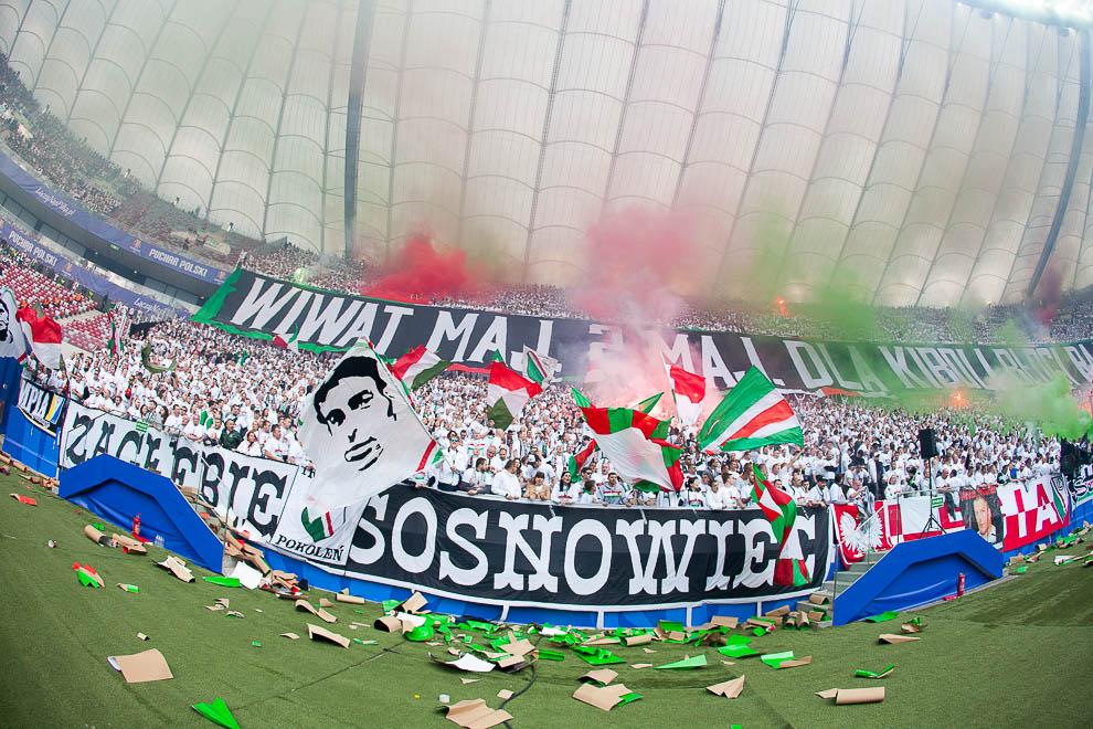 Finał Pucharu Polski: Lech Poznań 1-2 Legia Warszawa - fot. Piotr Galas (zdjęcie 99 z 172)
