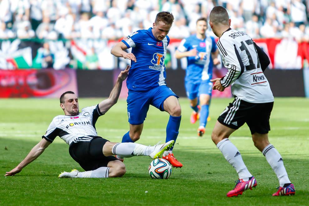 Legia Warszawa 1-2 Lech Poznań - fot. Piotr Galas/wiadomosci24.pl (zdjęcie 23 z 43)