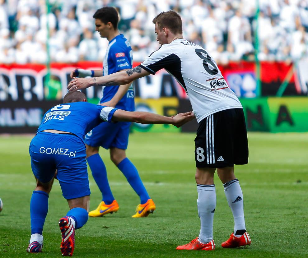 Legia Warszawa 1-2 Lech Poznań - fot. Piotr Galas/wiadomosci24.pl (zdjęcie 26 z 43)