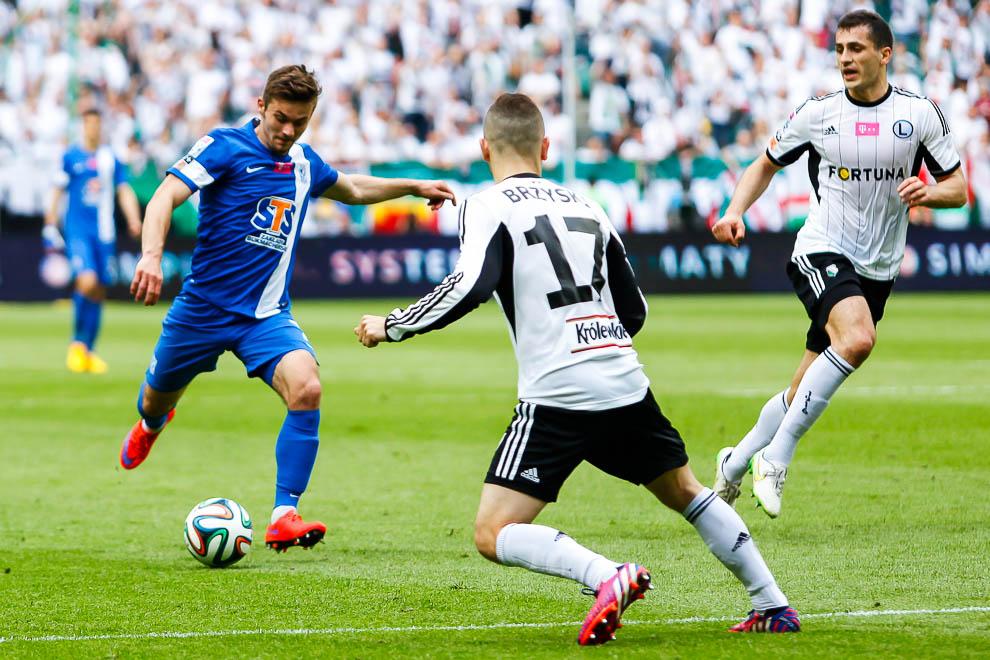 Legia Warszawa 1-2 Lech Poznań - fot. Piotr Galas/wiadomosci24.pl (zdjęcie 28 z 43)