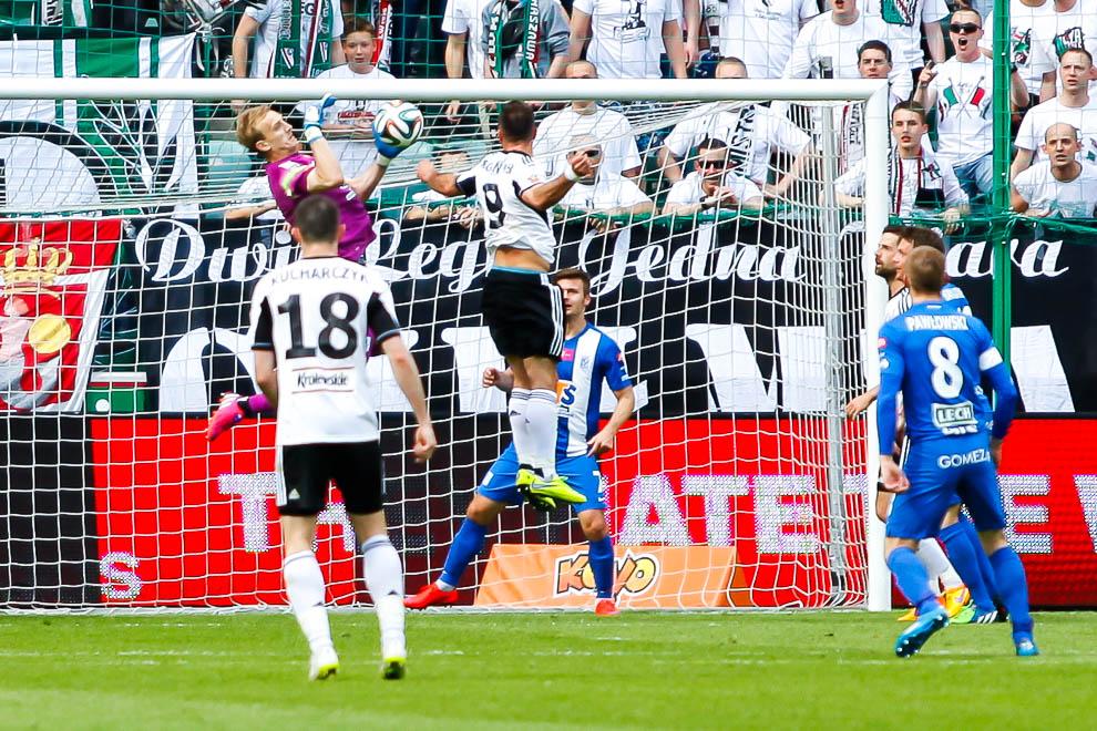 Legia Warszawa 1-2 Lech Poznań - fot. Piotr Galas/wiadomosci24.pl (zdjęcie 32 z 43)