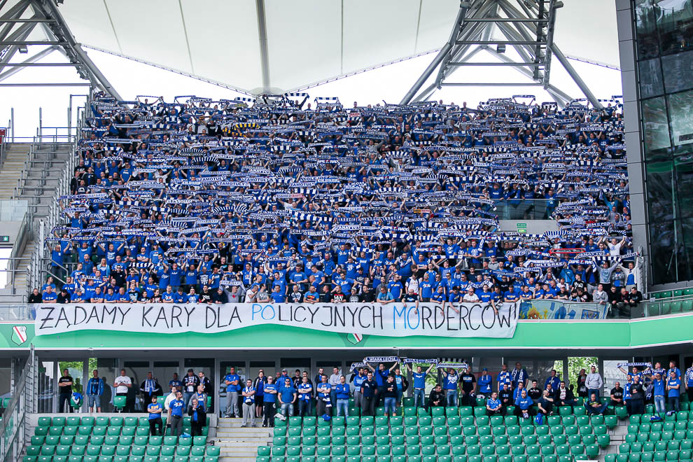 Legia Warszawa 1-2 Lech Poznań - fot. Piotr Galas/wiadomosci24.pl (zdjęcie 5 z 43)