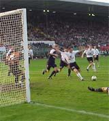 W ostatnim meczu z Odrą Legia nie potrafiła wykorzsytać nawet takich okazji... - fot. Mishka