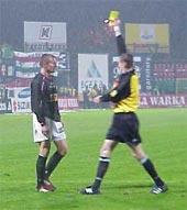 Żółta kartka dla Polonii za 500 biletów dla Legii - fot. Woytek