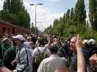 Do Łodzi dotarliśmy pociągiem specjalnym - fot. Bodziach