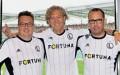 Maciej Wandzel, Dariusz Mioduski, Bogusław Leśnodorski - fot. Legia Warszawa