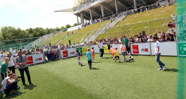 2 czerwca na tyłach trybuny wschodniej odbędzie się wielki piknik z okazji dnia dziecka - fot. Kamil Marciniak / Legionisci.com
