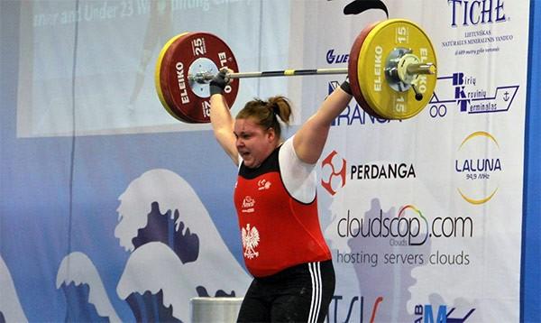 Aleksandra Mierzejewska - fot. Legia Sztanga