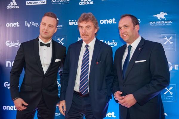 Zbigniew Boniek i z prawej prezes Ekstraklasy Marcin Animucki - fot. Woytek / Legionisci.com