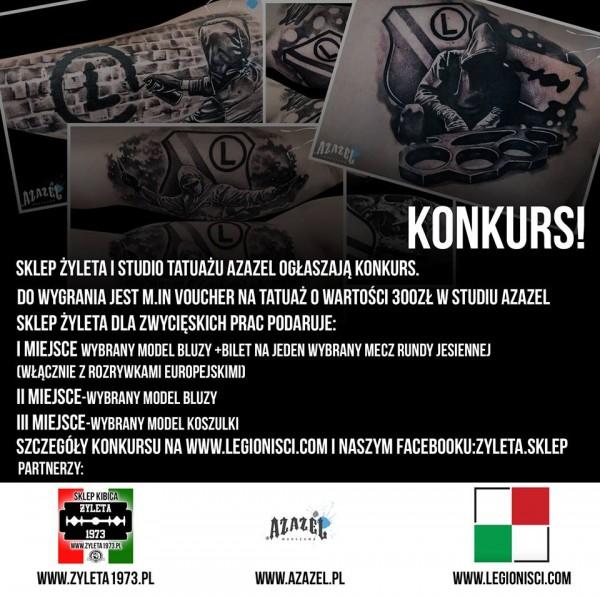 Konkurs Legijne Tatuaże Legioniscicom