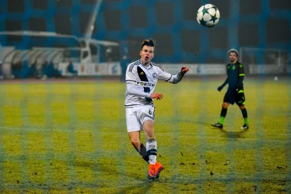 Adam Ryczkowski nie przedłużył kontraktu z Legią i przeniósł się do Chojniczanki - fot. Woytek / Legionisci.com