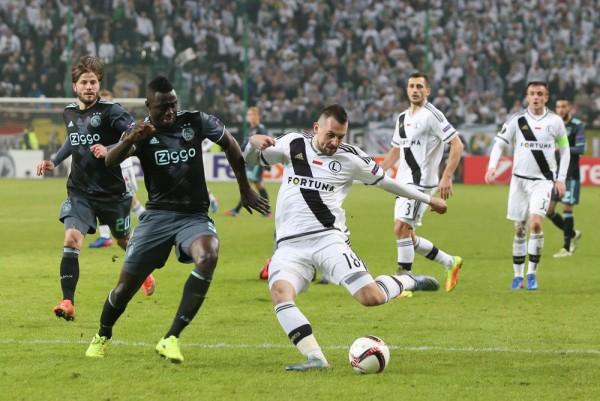 Michał Kucharczyk dał bardzo dobrą zmianę w meczu z Ajaxem - fot. Kamil Marciniak / Legionisci.com