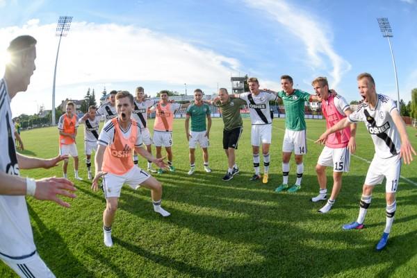 CLJ: Legia Warszawa - Lech Poznań. Radość po awansie do finału! - fot. Woytek / Legionisci.com