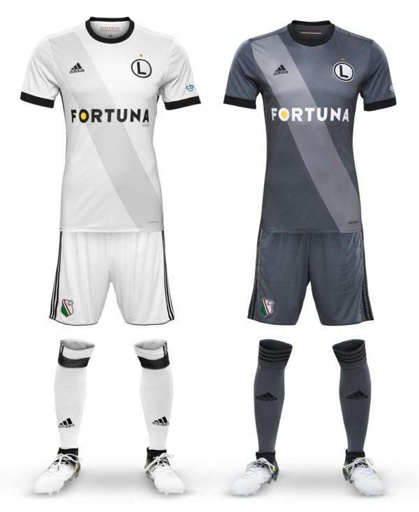 205577e82 Legia zaprezentowała nowe koszulki - legionisci.com
