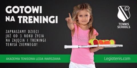 Tenisowa Legia zaprasza na zajęcia!