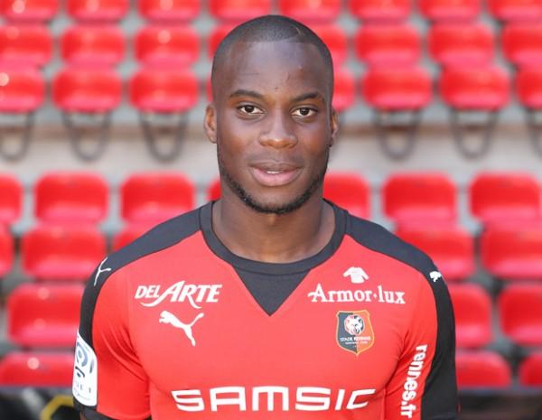 Yacouba Sylla w barwach Stade Rennais - fot. staderennais.com