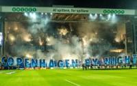 FC Kopenhaga na meczu z Atletico Madryt