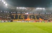 Jagiellonia Białystok na meczu z Cracovią - fot. jagiellonia.net