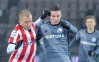Cracovia - Legia Warszawa. Jarosław Niezgoda w akcji - fot. Mishka / Legionisci.com