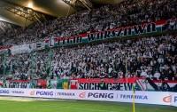Żyleta na meczu z Wisłą - fot. Mishka / Legionisci.com