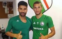 Eduardo da Silva i Eldin Omerović - fot. facebook.com/Crveno Crni