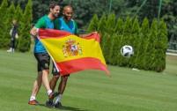 Inaki Astiz i Jose Kante - fot. Woytek / Legionisci.com
