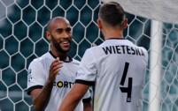 2018-07-04  sparing, Legia Warszawa - Viitorul Constanta,Jose Kante, Mateusz Wieteska - fot. Woytek / Legionisci.com